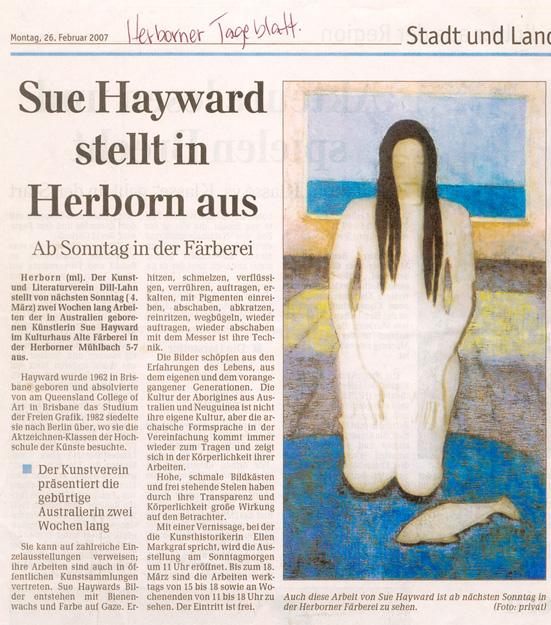 Herborner Tageblatt 26.02.2007