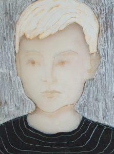 Child (striped shirt), 2017