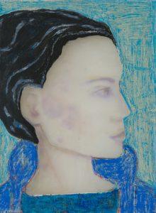 Woman (blue coat), 2018